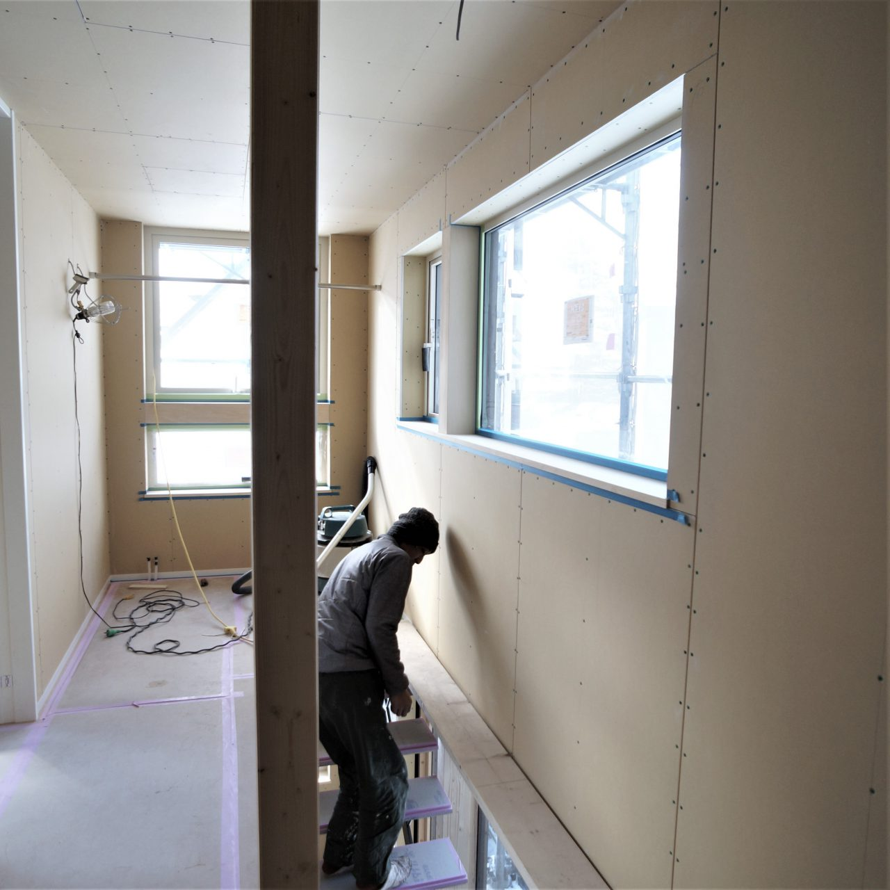 塗装工事準備