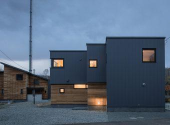 札幌の新築住宅完成写真